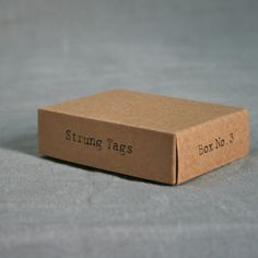 linen  milk / east of india - box n°3:  strung tags