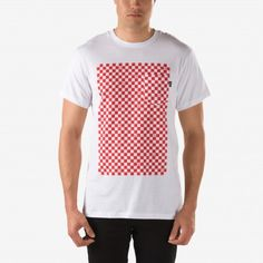 Vans White Checkerboard Pocket T-Shirt