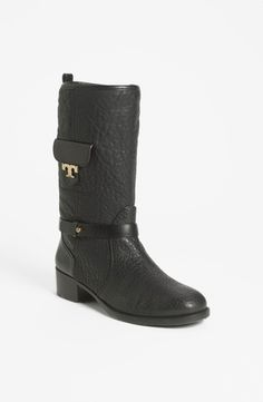 Tory Burch 'Leona' Boot Womens Black Size 6 M 6 M from Nordstrom on shop.CatalogSpree.com, your personal digital mall.