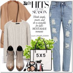Shein by oshint on Polyvore featuring Chanel, Laura Geller and shein