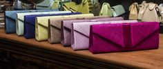 Our array of classic straw clutch bags #Colours #Accessories #OccasionWear