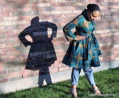 DIY Jacket/Dress – V8825 Pattern Hack