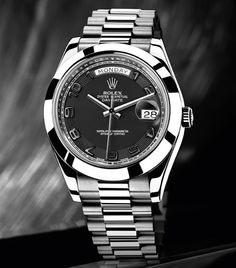 Rolex Day-Date acciaio.Solo  6 esemplari , che videro la luce alla metà degli anni 50 e che furono assegnati agli studenti più meritevoli della celebre Ecole d'Horlogerie de Genève e mai commercializzati all'epoca.