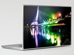 Provencher Bridge Laptop & iPad Skin by Khammyp - $30.00