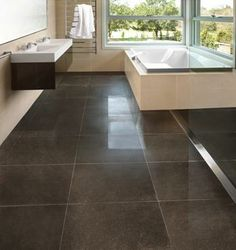 Dark Modern Bathroom Tiles