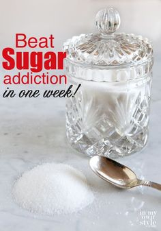 Beat your sugar cravings in one week!! I so need to do this before the holidays arrive. Ok, who am I kidding... all year round LOL