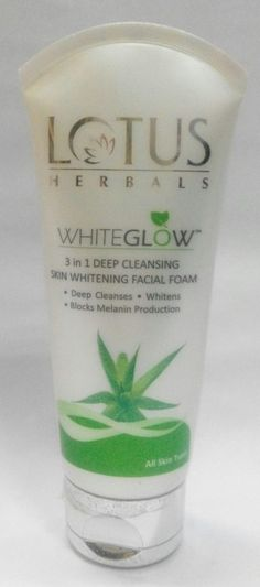 Lotus Herbals White Glow 3 in 1 Deep Cleansing Skin Whitening Facial Foam has a slightly thick consistency which gets into the soapy lather when I rub it on Cleanse Me, Skin Cleanse, Skin Care Home Remedies, Aloe Vera Gel, Combination Skin, Active Ingredient, Face Wash, Winter Season, Monsoon