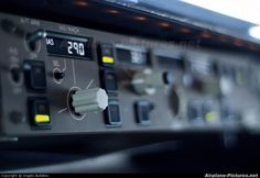 MCP (autopilot panel) of Boeing 737NG