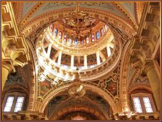 Interior, dome, Templo de San Antonio de Padua, Aguascalientes