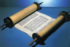 Torah scroll. / For teaching ALL OF A KIND FAMILY by Sydney Taylor / To get unique hands-on literature activities, ideas, tips, and DIY LitWits Kits, visit http://www.litwitsworkshops.com/free-resources/