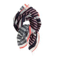 love this scarf // extra 40% off with code 'SHOPMORE' during J. Crew's summer sale!