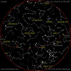 Find planets, stars and constellations quickly and easily in the night sky with the AstroViewer night sky map Star Constellations, Space And Astronomy, Science Facts, To Infinity And Beyond, Write It Down, Star Sky, Stargazing, Stars And Moon, Outer Space
