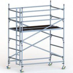 Andamio aluminio móvil GDA500-DW 2 metros