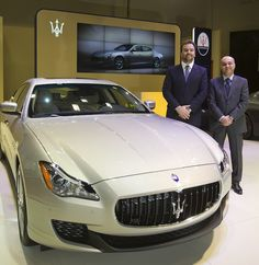 Official Maserati Importer in Qatar, Alfardan Sport Motors, and Umberto Cini, Managing Director for Maserati Overseas Markets, unveiled the sixth-generation of the Maserati Quattroporte to the Middle East at the Qatar Motor Show.