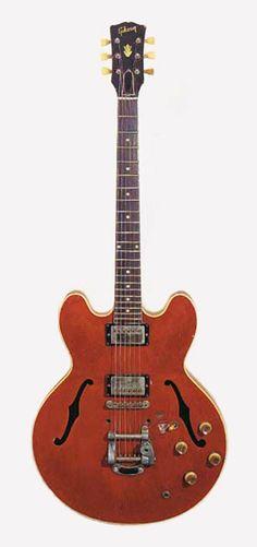 Ritchie Blackmore   '61 Gibson ES-335.