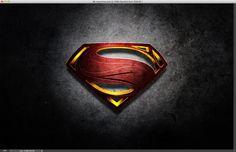 Man of Steel Symbol in Illustrator and Photoshop | Abduzeedo Design Inspiration