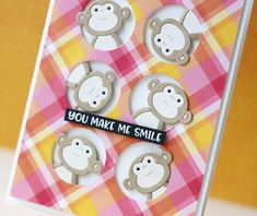 """792 Likes, 39 Comments - Laura Bassen (@laurafadora) on Instagram: """"Gimme all the monkeys!sharing a couple projects on the @simonsaysstamp blog featuring the…"""""""