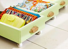 Make Rolling Storage Bins