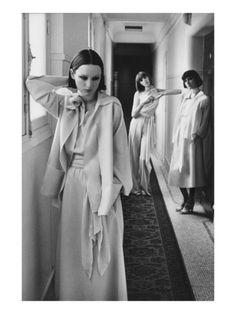 Vogue, January 1975. Photo:   Deborah Turbeville.