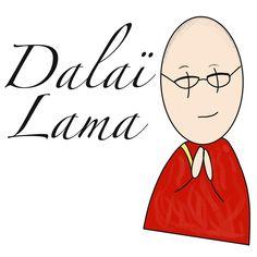 """@morgane.facilitation on Instagram: """"Bon vendredi, un nouveau portrait d'un grand sage. Le Dalaï Lama.  , #dalailama #bikablo #procreate #procreatesketchnote…"""" Dalai Lama, Disney Characters, Fictional Characters, Portrait, Instagram, Good Friday, Baby Born, Headshot Photography, Portrait Paintings"""