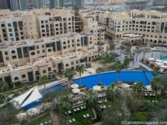 The Address Downtown, hôtel de luxe à Dubaï - Carnet d'escapades