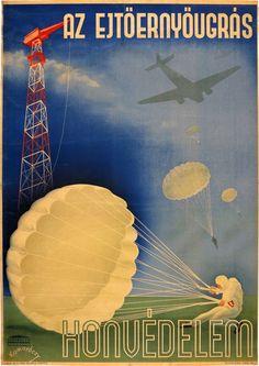1942 Hungary, Army, Posters, History, Vintage Posters, Gi Joe, Historia, Military, Poster
