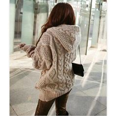 Material: Knitting Color: Photo Color Size: one size ( standard size ) Size Chart : (CM) Length 66, Sleeve 45, Bust 116