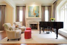 Amy Gibbs Interiors Formal Living Room
