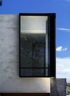 Window detail at Elwood Townhouses, Victoria, Australia by McAllister Alcock Architects