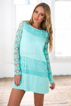 Crochet Daisy Dress ▶ ▷▶ Shop It Now ❤ Xenia Boutique xx