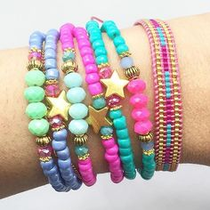 From @hiplikeme Multistand bracelets soon on etsy #braceletstack #bracelets #friendshipbracelets #beads #jewelry #jewelryaddict…