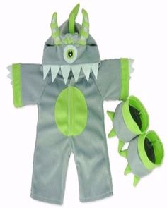 Little Monsters bear clothes build a monster