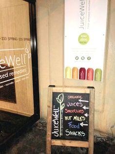 3 new juice bars open in downtown Manhattan: #greenjuice #juicebars #healthynyc