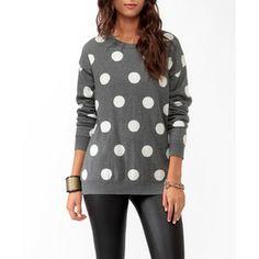 forever 21 sweaters | sweaters forever 21 sweaters forever 21 longline polka dot sweater ...
