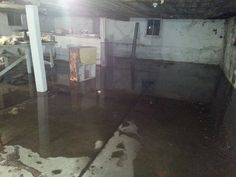 We found out the hard way....That the church basement, will make a great swimming pool this summer...