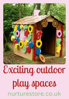 How cool are these outdoor play spaces?