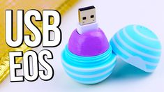 DIY EOS USB Flash Drive ♥ BACK TO SCHOOL
