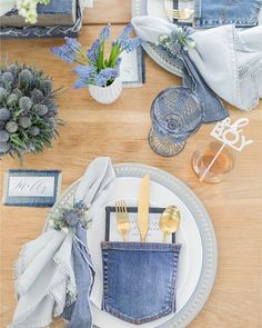 Home Interior Contemporary Blue Jean Baby Shower for Ali Fedotowsky.Home Interior Contemporary Blue Jean Baby Shower for Ali Fedotowsky Boy Baby Shower Themes, Baby Boy Shower, Baby Shower Decorations, Baby Theme, Baby Showers, Balloon Decorations, Denim Baby Shower, Diamonds And Denim Party, American Retro