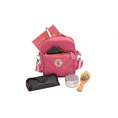 กระเป๋าสะพายข้าง Inbox สีขมพู | Tavii