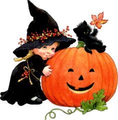ruth morehead halloween | fille en sorcière avec son chat 5
