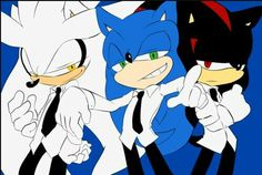 Silver  sonic and shadow
