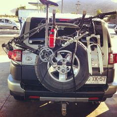 see how much things this FJ cruiser can take!
