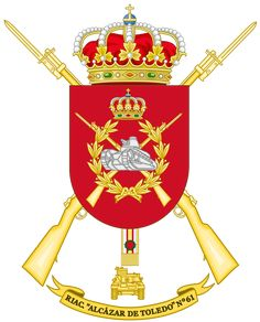 alcazar heraldry - - Image Search Results Military Insignia, Coat Of Arms, Armed Forces, Warfare, Image Search, Spanish, Army, Flag, Knights