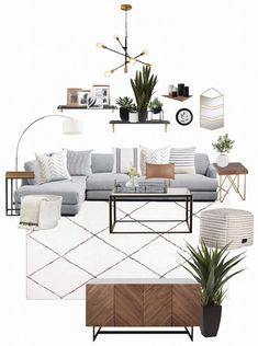 Home Interior, Interior Design Living Room, Living Room Designs, Interior Modern, Modern Decor, Rustic Decor, Natural Interior, Luxury Interior, Interior Design Trends