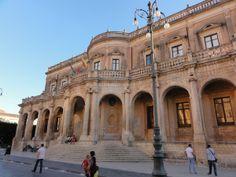 Palazzo Ducezio, Noto, Sicily
