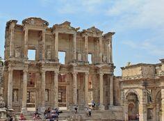 The #Ephesus at Kusadasi, #Turkey. #Mediterranean
