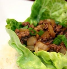 Quick and Healthy Meals: Healthy Asian Lettuce Wraps