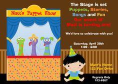9 Puppet Show Party Ideas Puppet Show Party Puppets