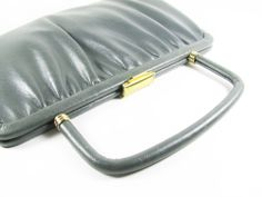 Vintage Gray Purse / Grey Clutch for Wedding or by MyChouchou, $22.00