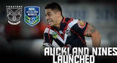 nrl 9s - Shaun Johnson Auckland Warriors